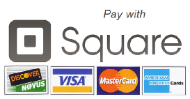 Credit Cards Accepted via Square