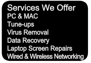 Computer Repair Services Offered